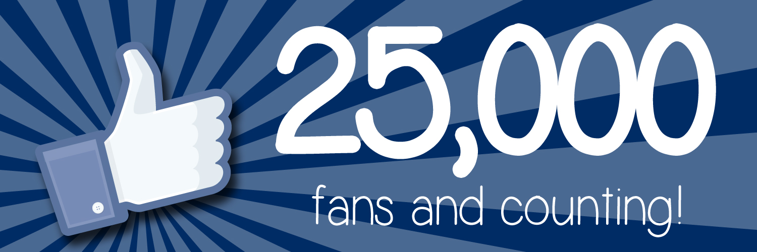 Sometime very soon the USW Facebook Page will reach an incredible  milestone: 25,000 likes and counting!