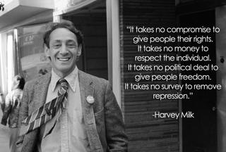 Harvey Milk on the Cost of Humanity