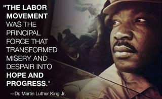 MLK on the Hope of Unions
