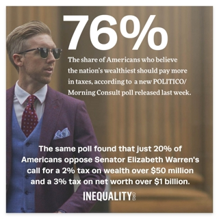 Broad Support for Billionaire Tax